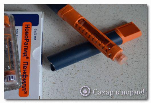 Алгоритм расчета дозы инсулина