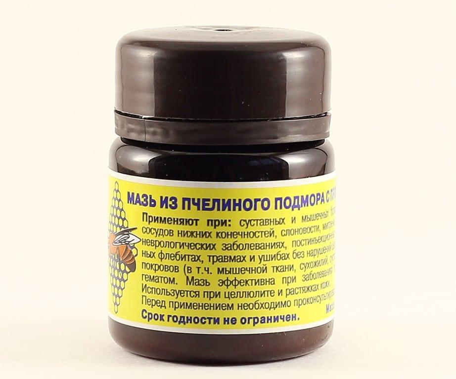 применение пчелиного подмора при лечении простатита