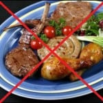 исключить из рациона все острые и жирные блюда.