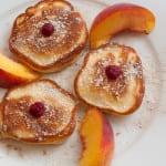 фруктовые оладьи
