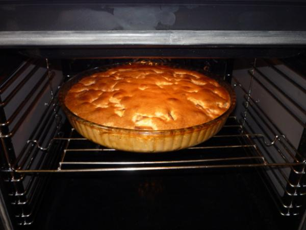 Шарлотка необычная с яблоками рецепт с пошагово в духовке