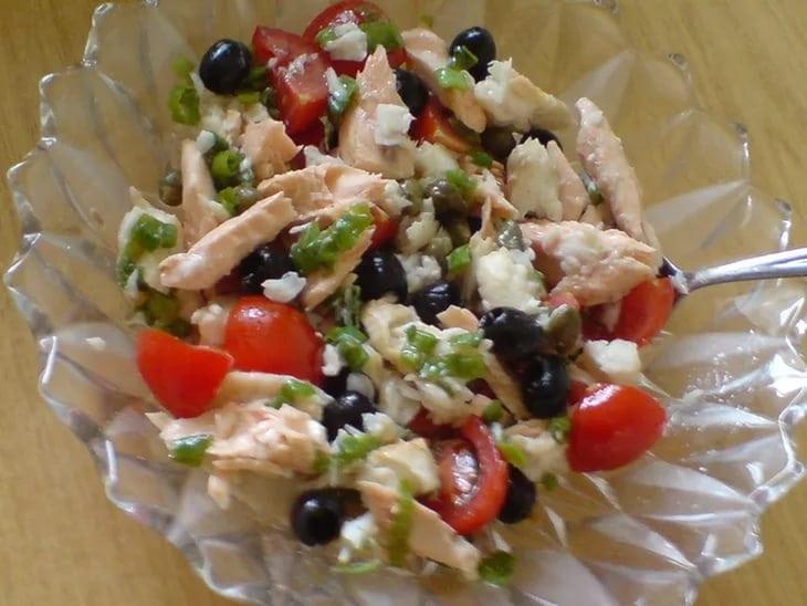 Салат из рыбы с фото