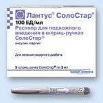 Инсулин Лантус: отзывы о препарате длительного действия