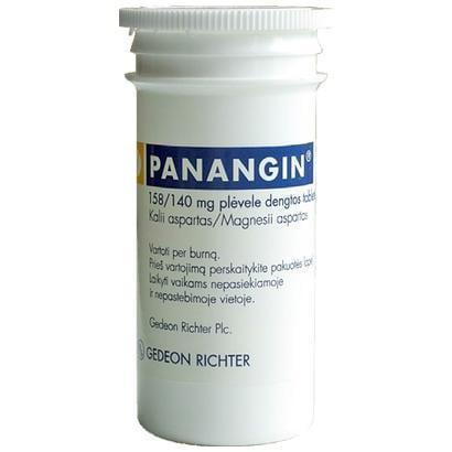 панангин при сахарном диабете 2 типа