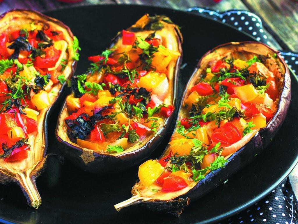 Блюда из баклажанов фото