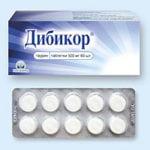 Таблетки Дибикор: цена и отзывы, кто принимал