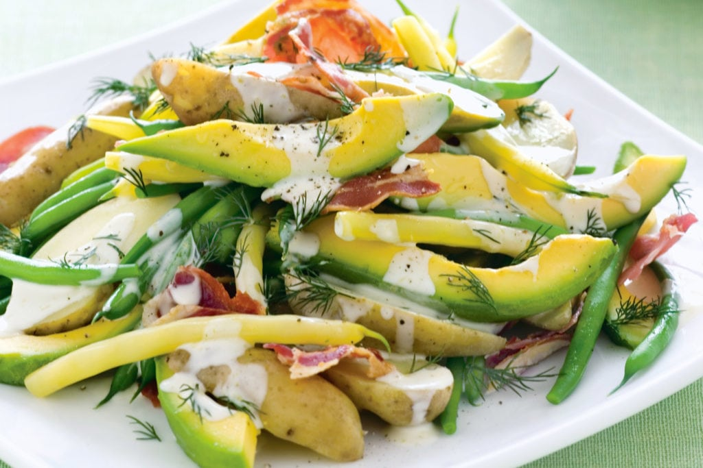 Рецепт салата с авокадо для диабетика