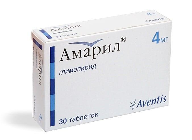 Амарил: инструкция по применению, цена, отзывы, аналоги ...