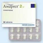Амарил 2 и 4 мг: цена, отзывы о таблетках от диабета, аналоги