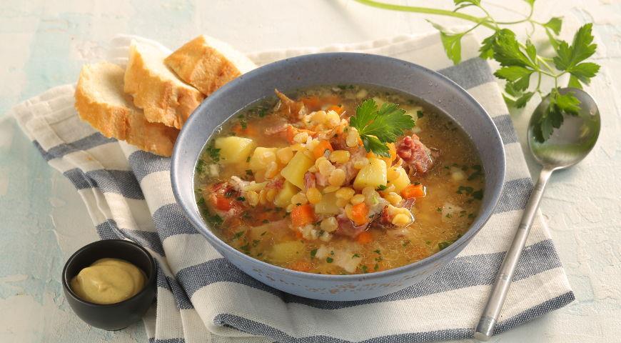 гороховый суп с фото