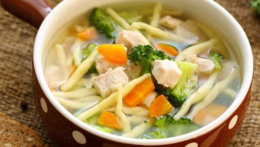 рецепт диетических овощных супов при панкреатите