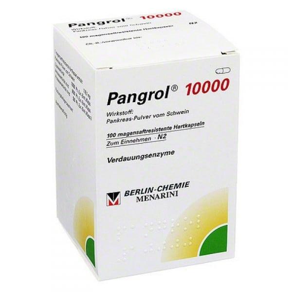 пангрол 10000 инструкция по применению