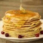 Блины с медом вместо сахара: вкусные рецепты оладушек для диабетиков
