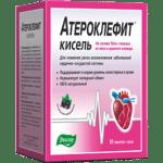 Лекарство от холестерина Атероклефит: инструкция и показание к применению