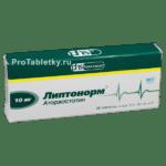 Липтонорм: цена препарата в аптеках, показания и отзывы