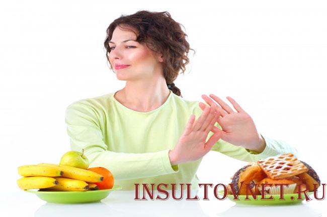 Диета после инсульта предотвращаем следующие осложнения