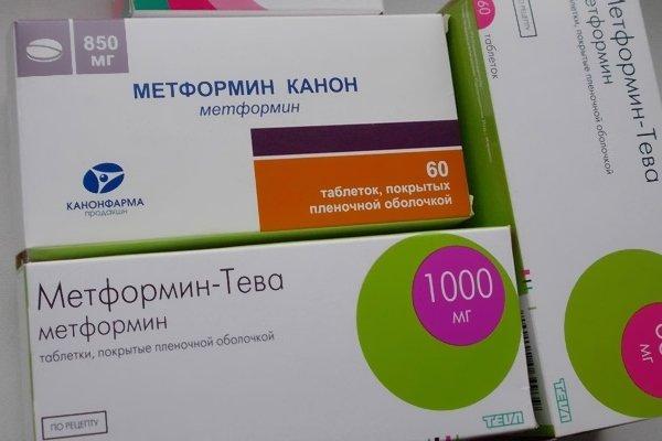 Применение метформина для диабетиков второго типа